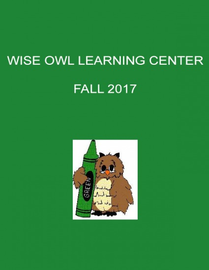 Wise Owl Learning Center Fall 2017